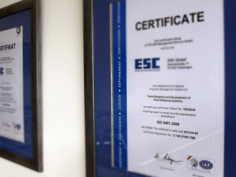 Company | ESC GmbH